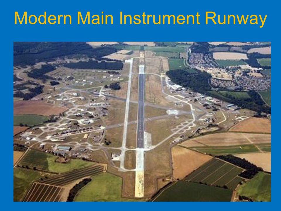 Modern Main Instrument Runway