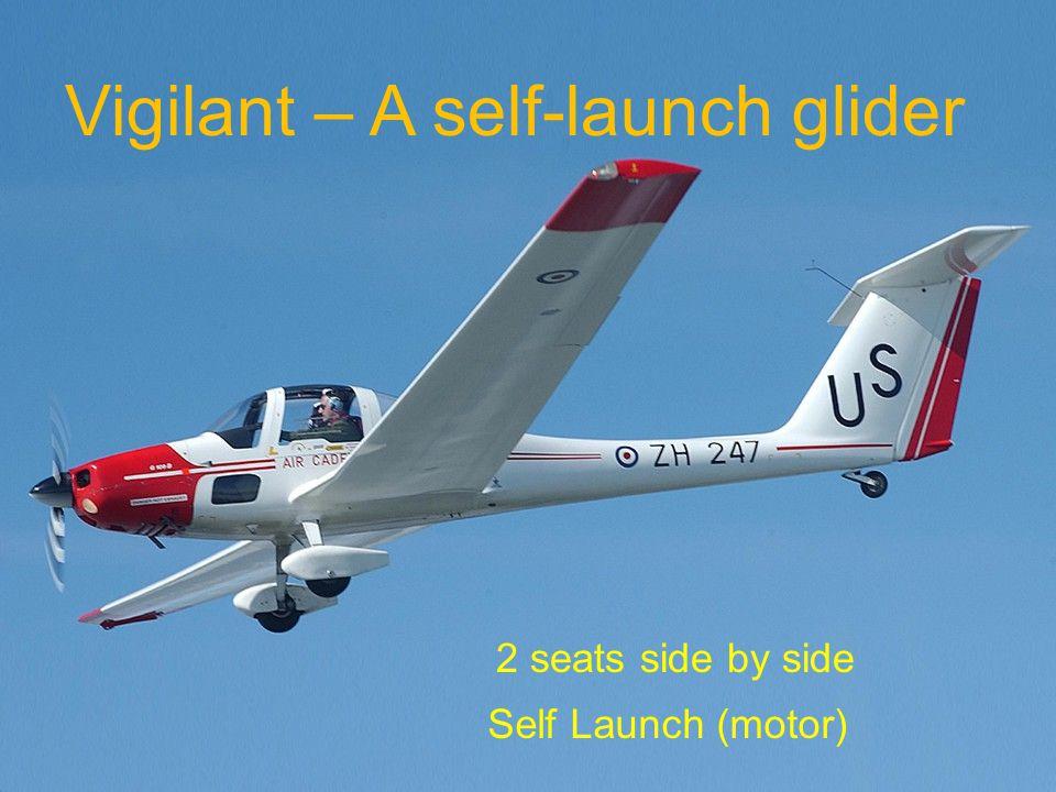 Vigilant – A self-launch glider