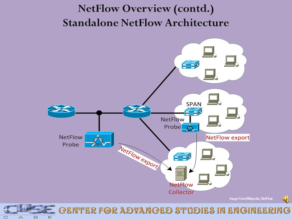 NetFlow Overview (contd.) Standalone NetFlow Architecture