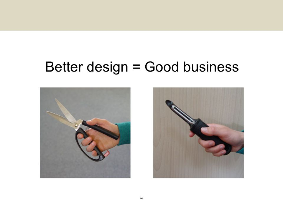 Better design = Good business