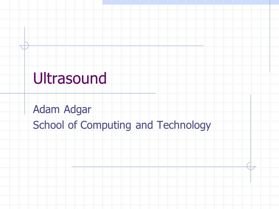 Adam Adgar School of Computing and Technology