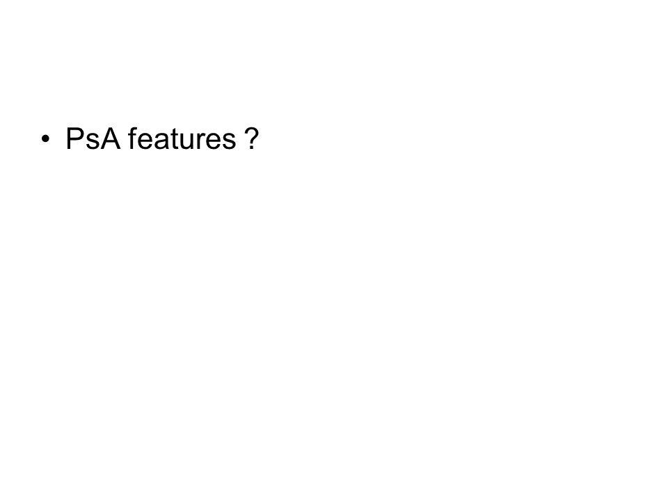 PsA features