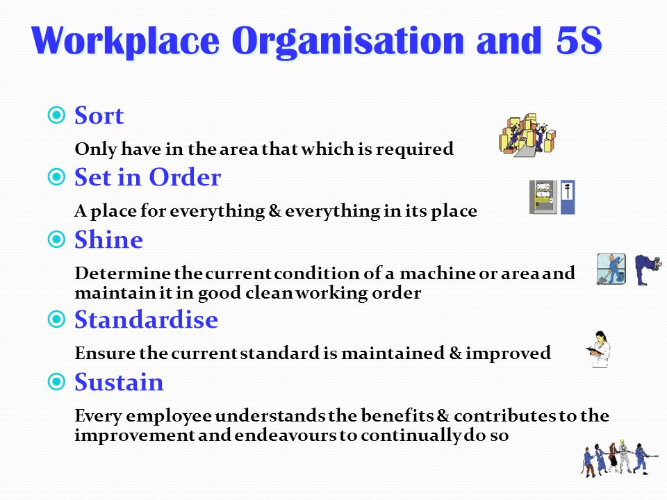 Workplace Organisation and 5S