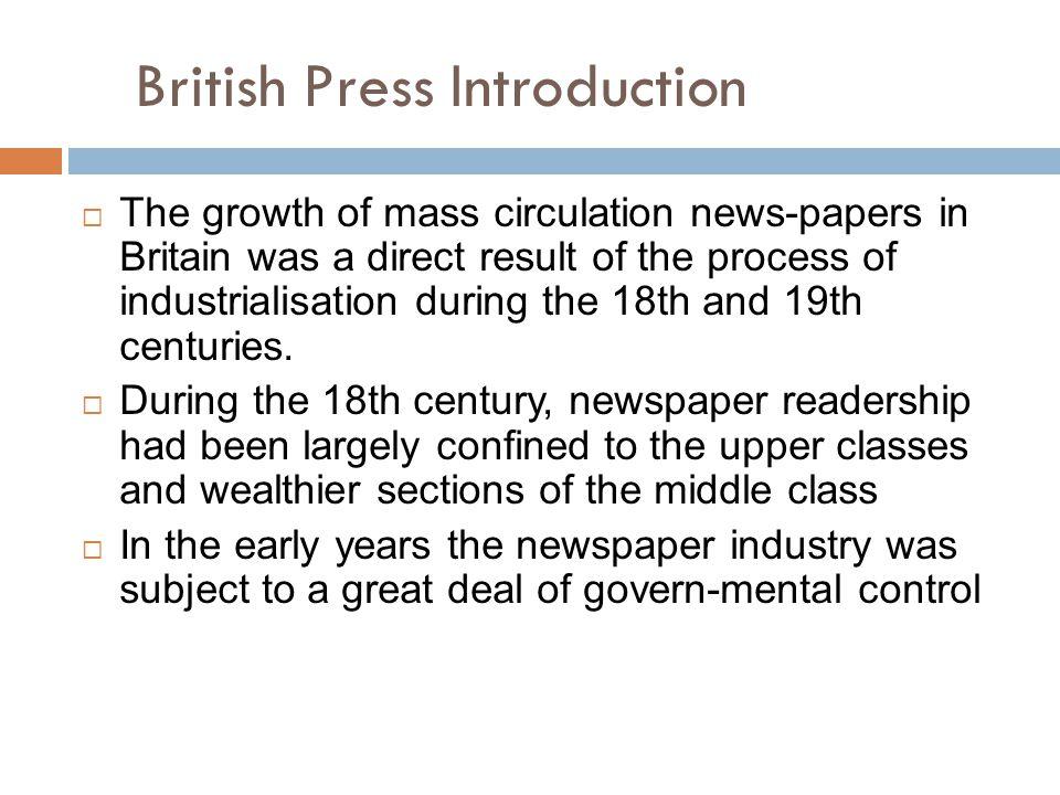 British Press Introduction