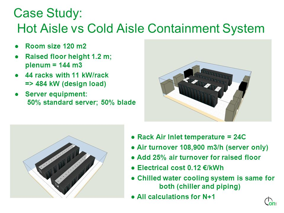 Case Study: Hot Aisle vs Cold Aisle Containment System