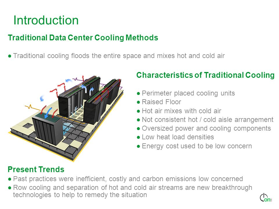 Introduction Traditional Data Center Cooling Methods