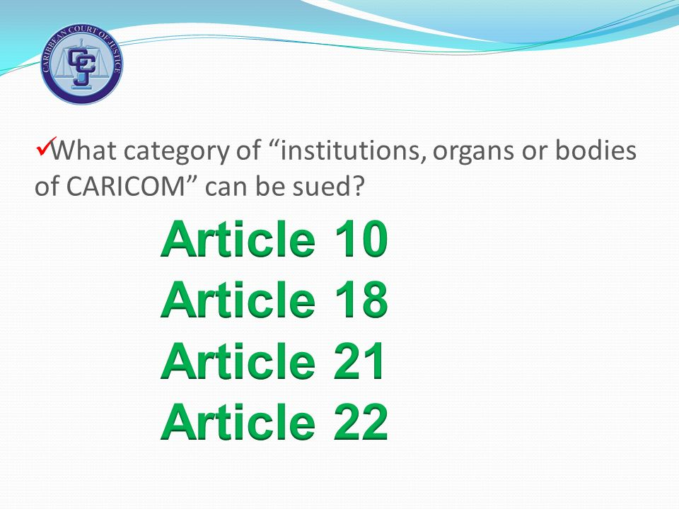 Article 10 Article 18 Article 21 Article 22