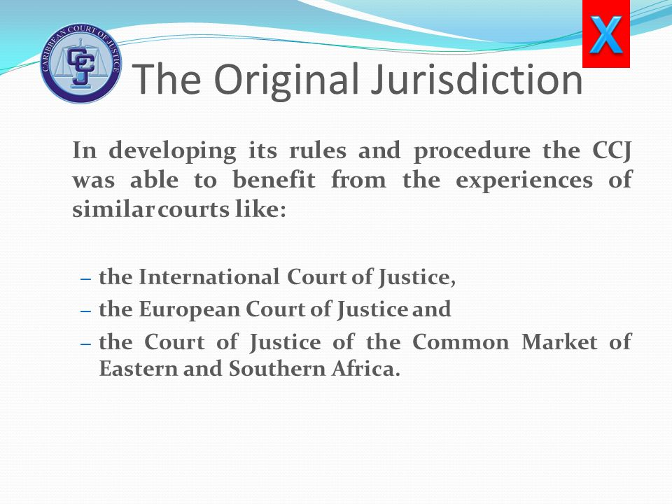 The Original Jurisdiction