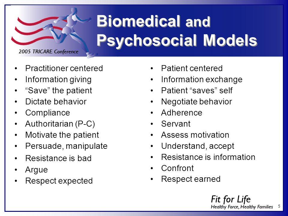 Biomedical and Psychosocial Models