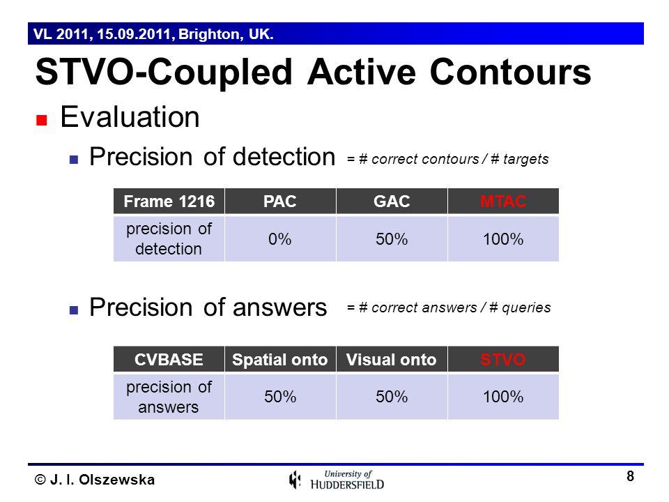 STVO-Coupled Active Contours