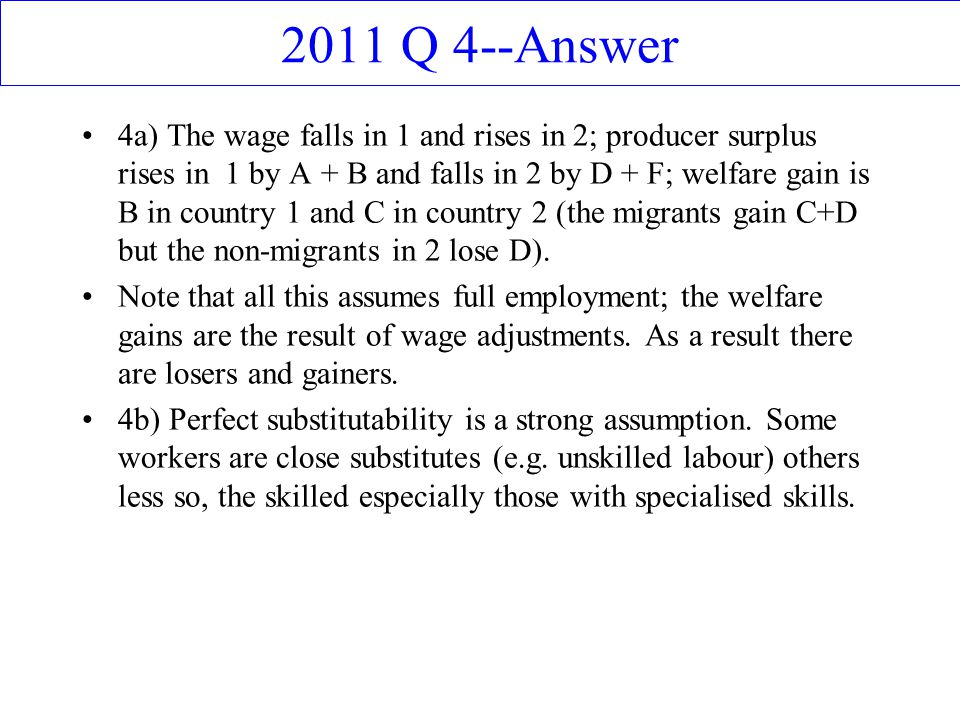 2011 Q 4--Answer