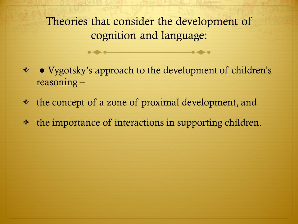 the importance of the development of language Early language and literacy (reading and writing) development begins in the first 3 years of life and is closely linked to a child's earliest experiences with books and stories.