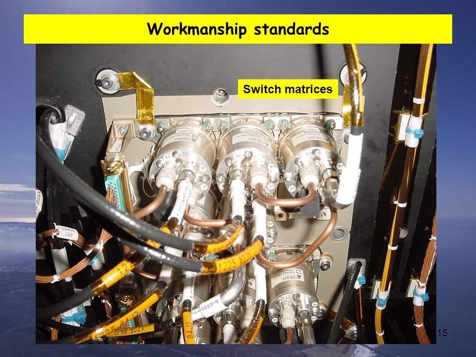 Workmanship standards