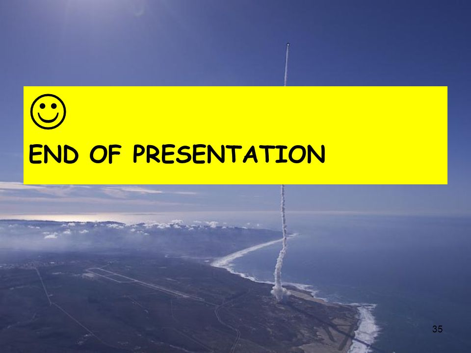  END OF PRESENTATION