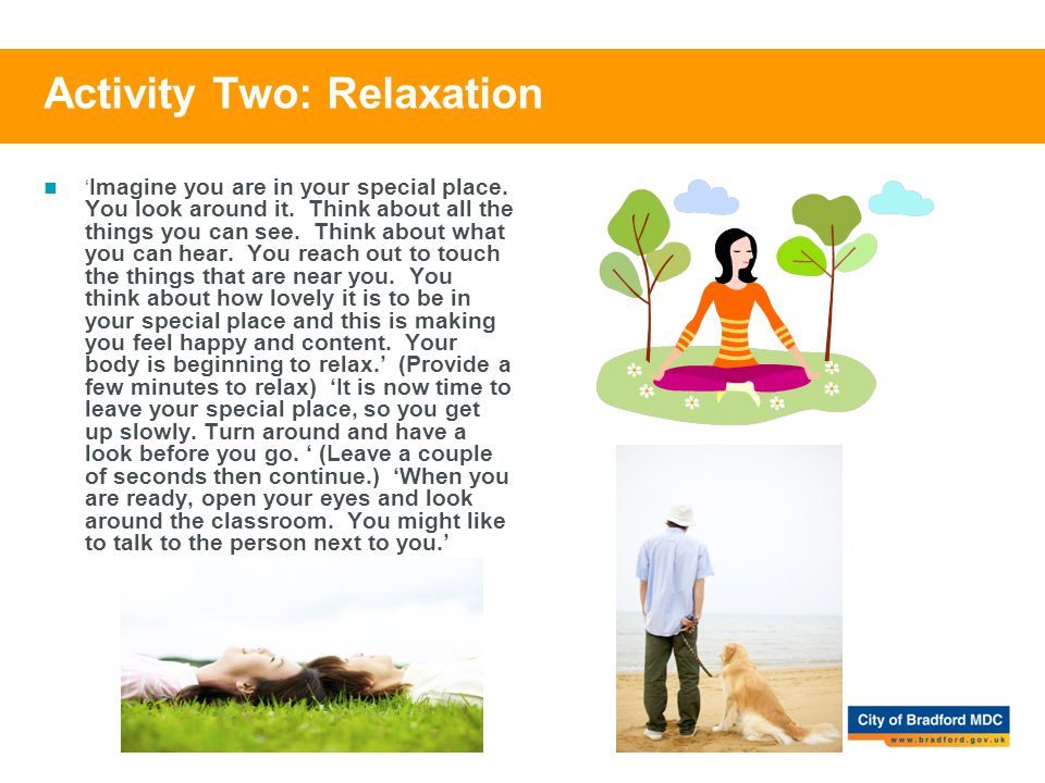 Activity Two: Relaxation
