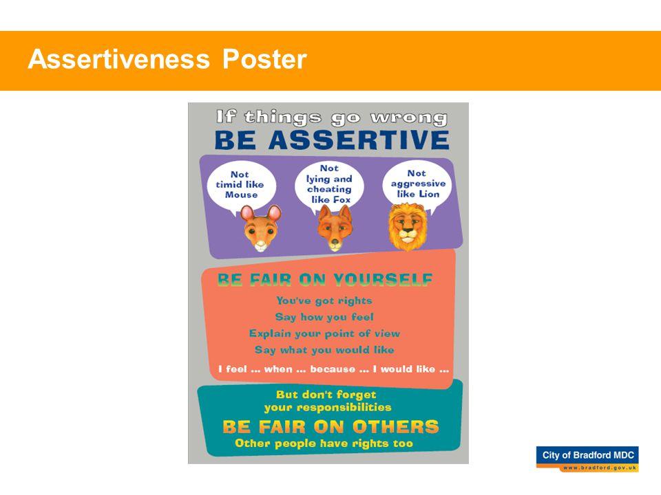 Assertiveness Poster