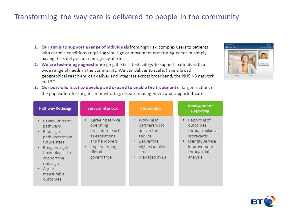 Transforming the way care is delivered to people in the community