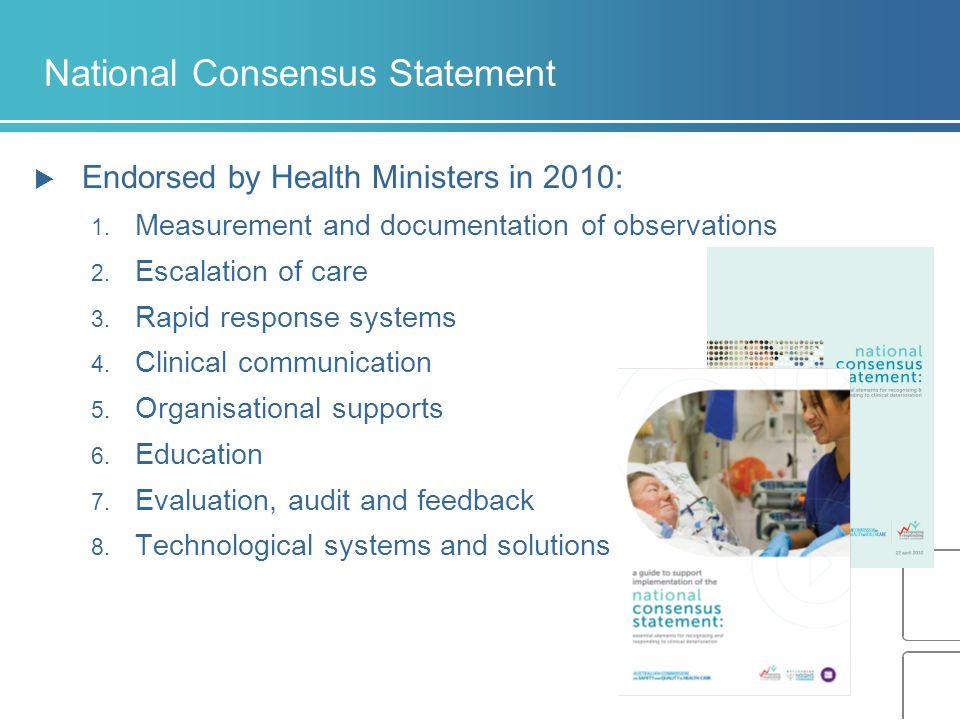 National Consensus Statement