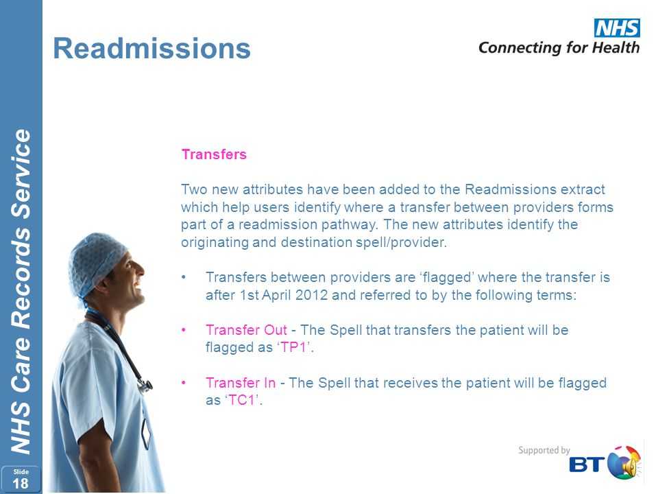 Readmissions Transfers