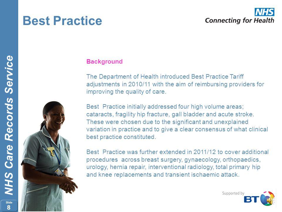 Best Practice Background