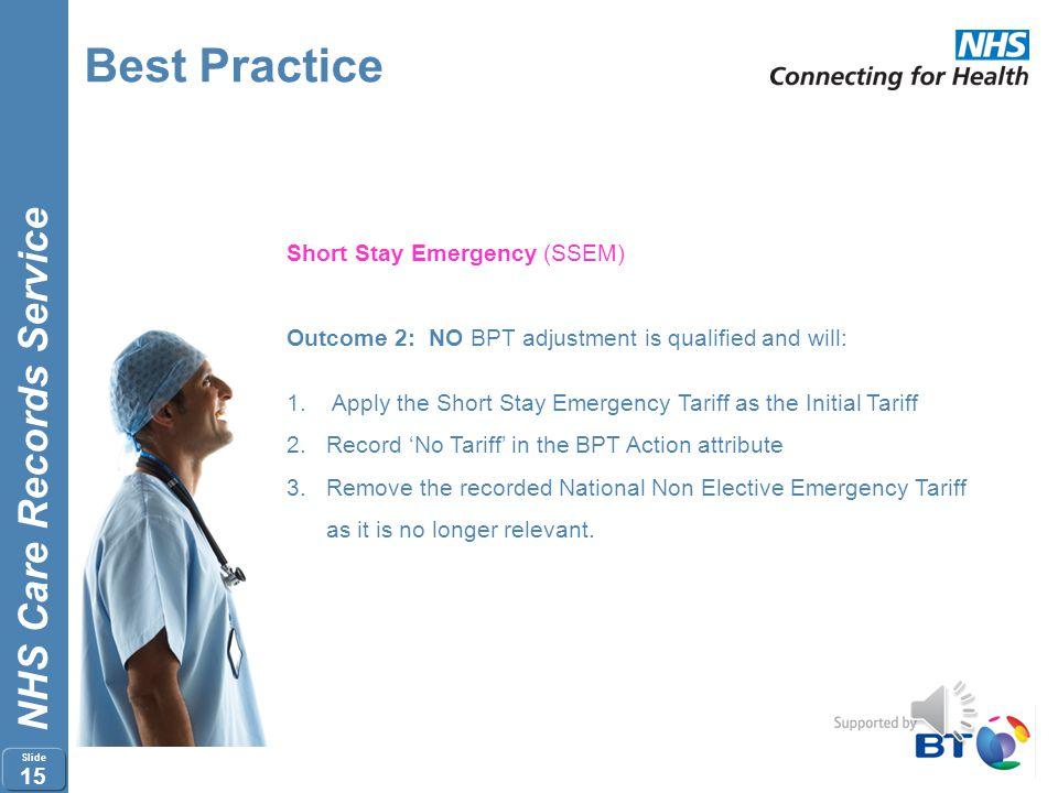 Best Practice Short Stay Emergency (SSEM)