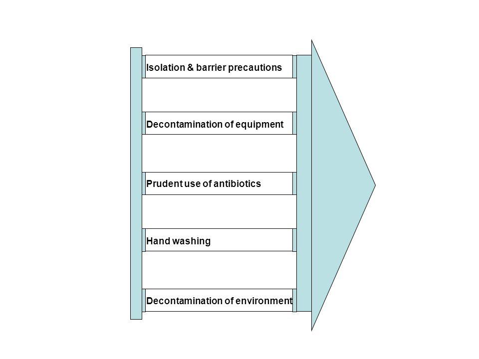 Isolation & barrier precautions