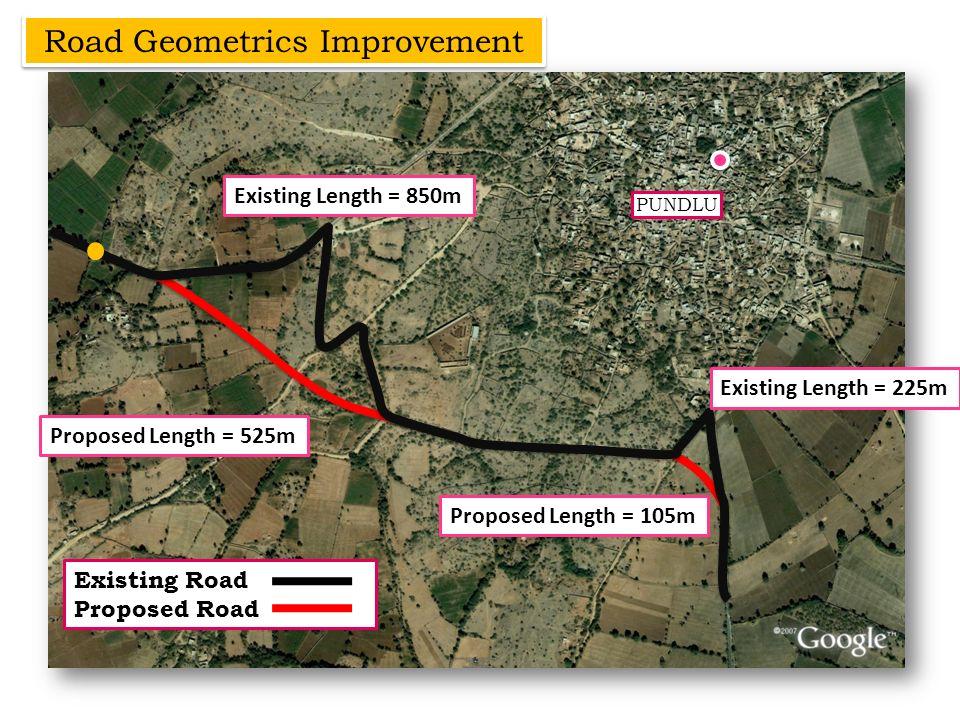Road Geometrics Improvement