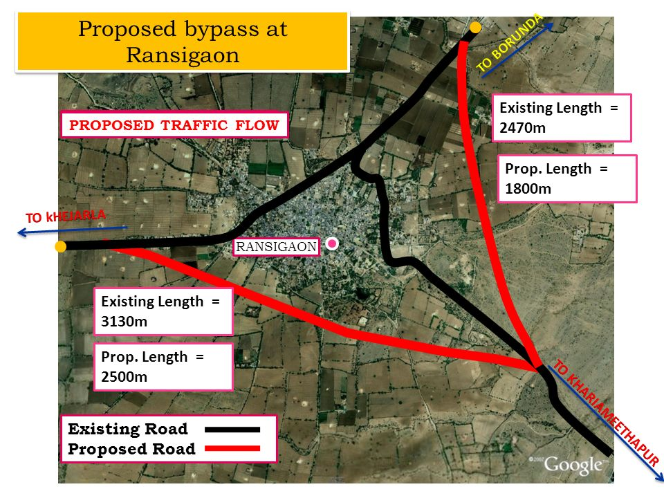 Proposed bypass at Ransigaon