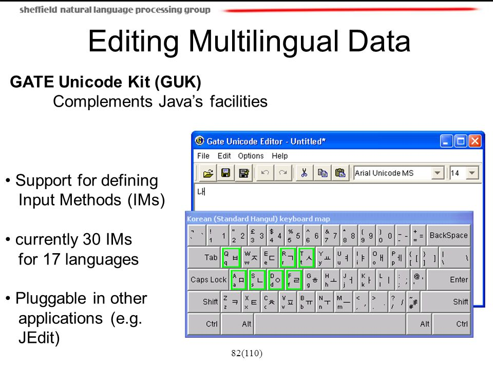 Editing Multilingual Data