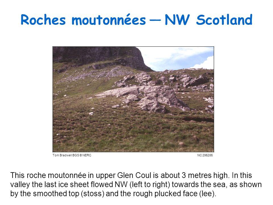 Roches moutonnées — NW Scotland