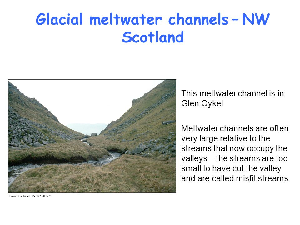 Glacial meltwater channels – NW Scotland