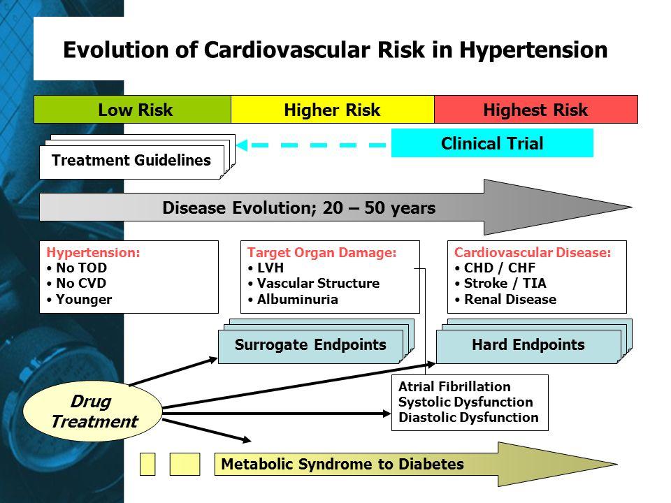 Evolution of Cardiovascular Risk in Hypertension