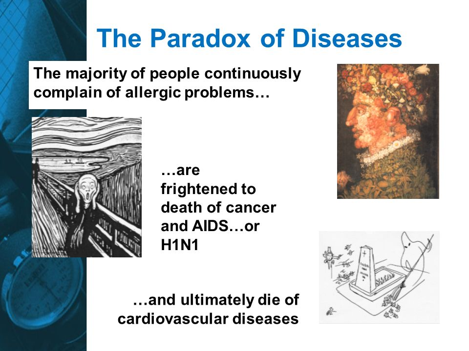 The Paradox of Diseases