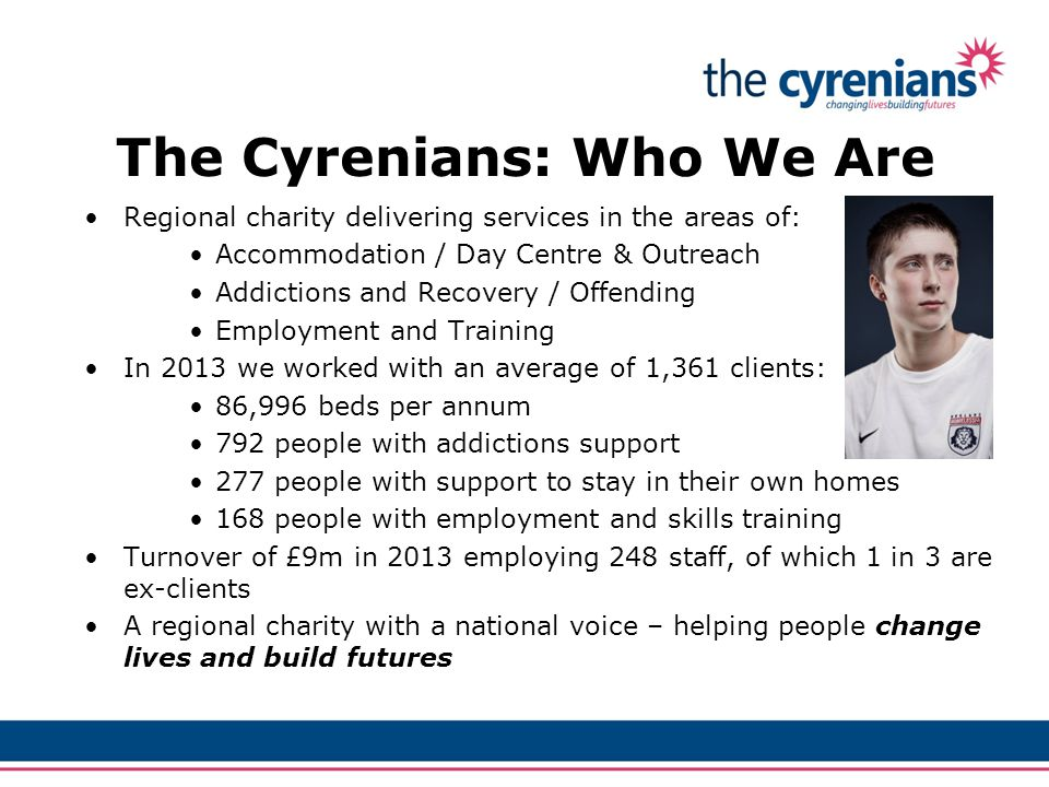 The Cyrenians: Who We Are