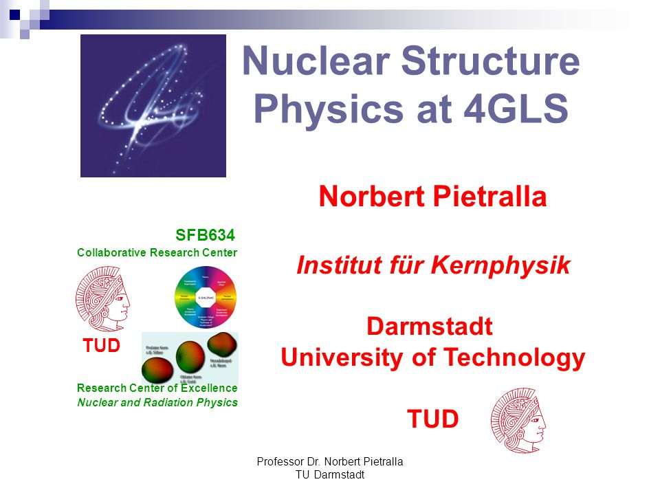 Nuclear Structure Physics at 4GLS