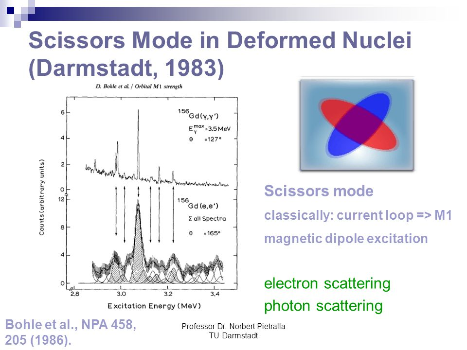 Scissors Mode in Deformed Nuclei (Darmstadt, 1983)