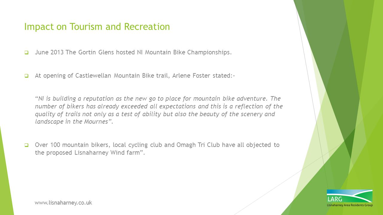 Impact on Tourism and Recreation