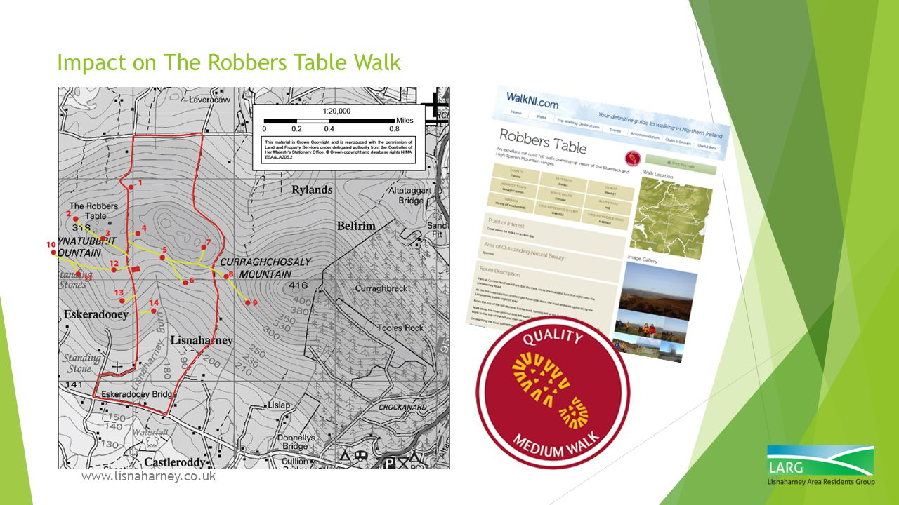 Impact on The Robbers Table Walk
