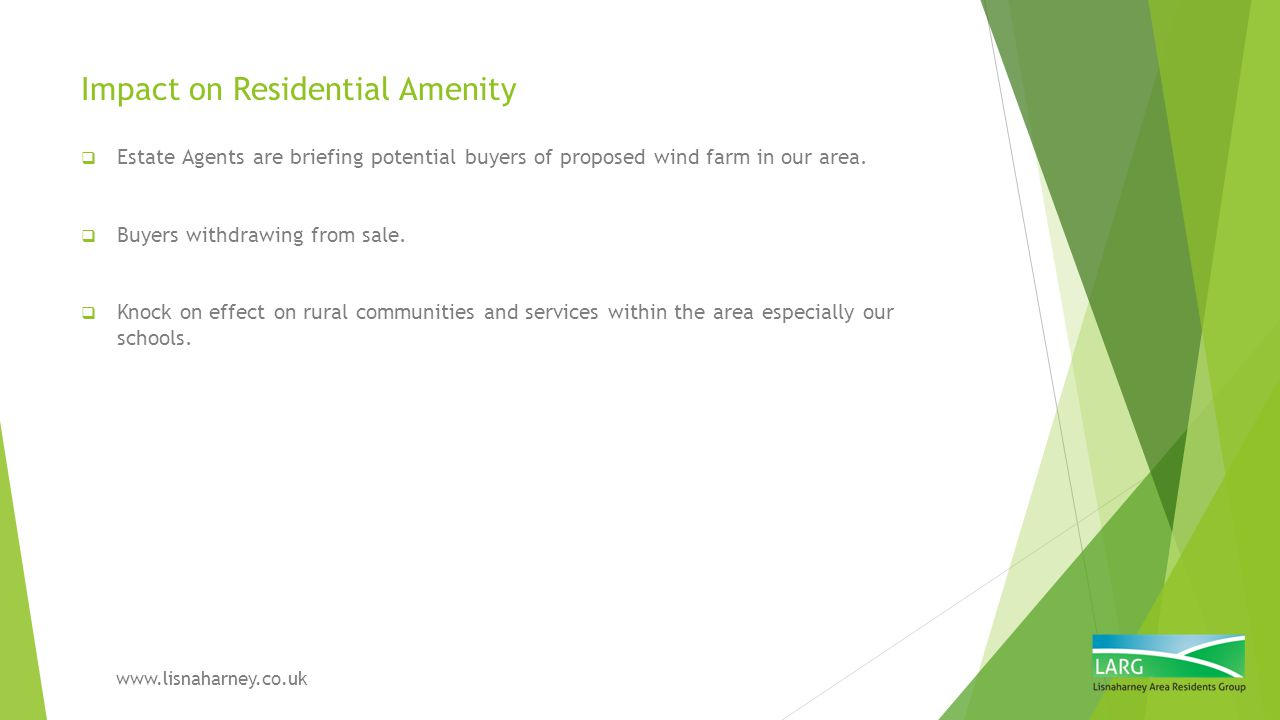 Impact on Residential Amenity