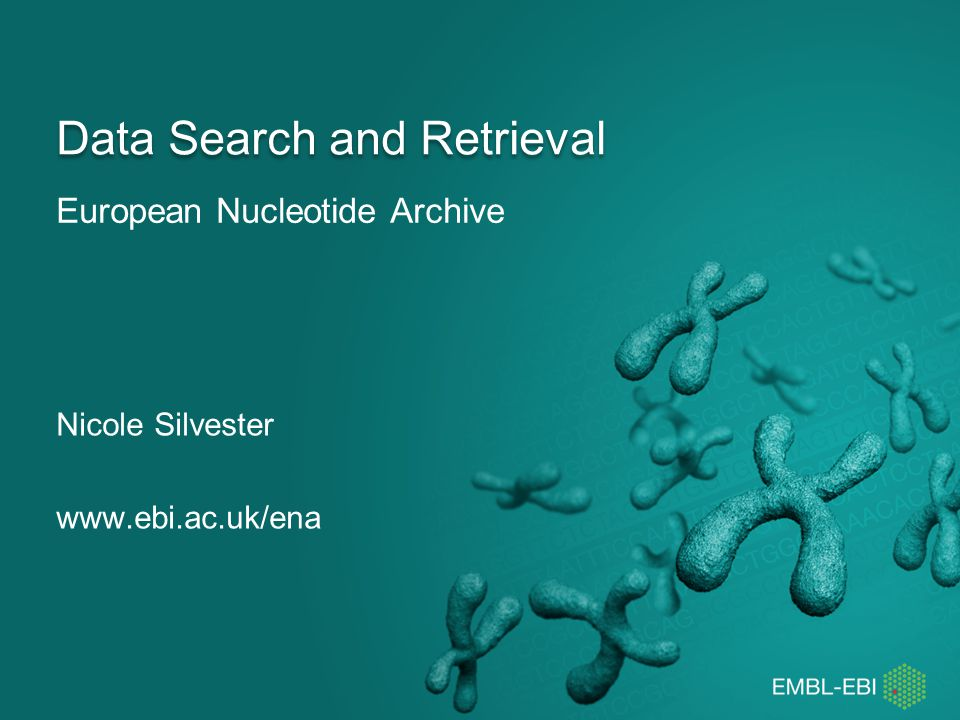 Data Search and Retrieval