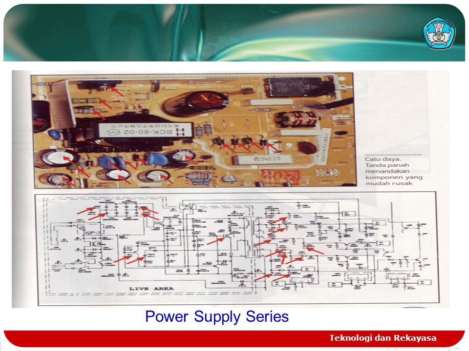Power Supply Series Teknologi dan Rekayasa