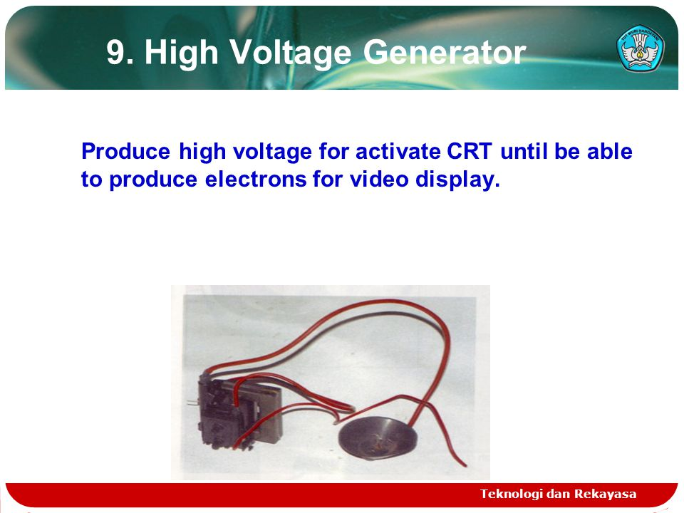9. High Voltage Generator