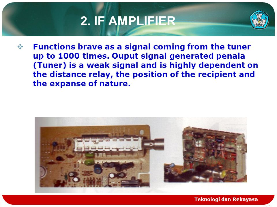 2. IF AMPLIFIER