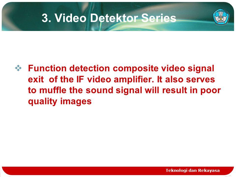 3. Video Detektor Series