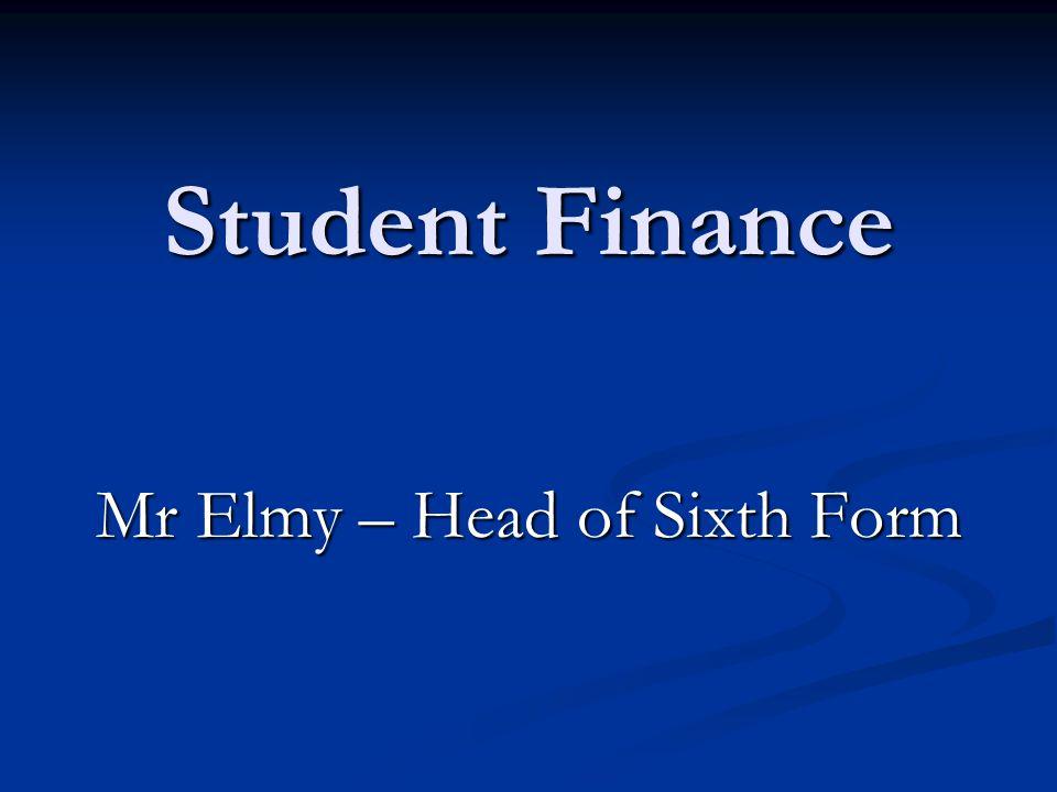 Mr Elmy – Head of Sixth Form
