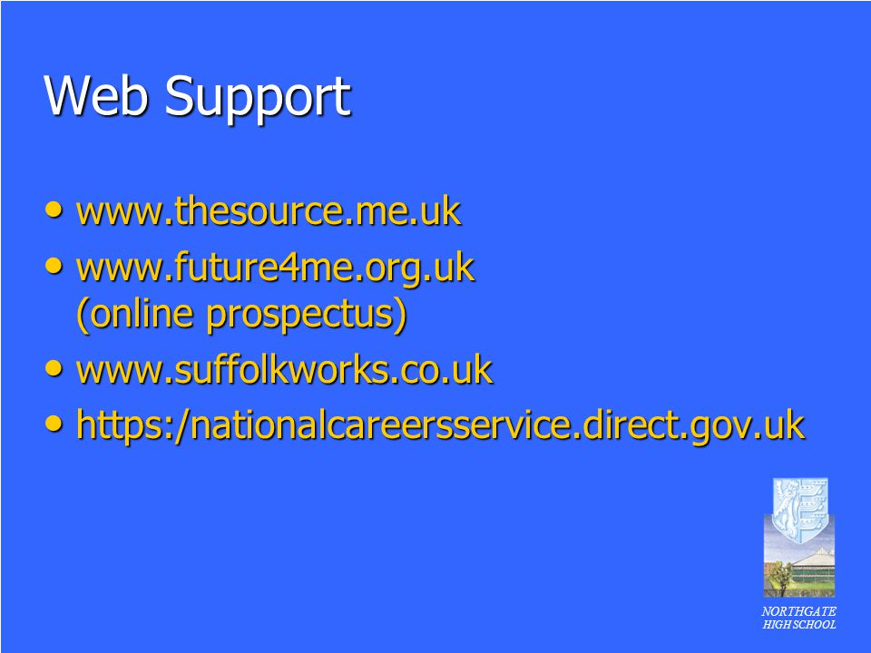 Web Support www.thesource.me.uk