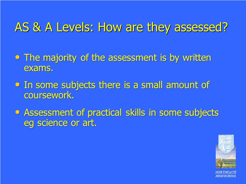 AS & A Levels: How are they assessed
