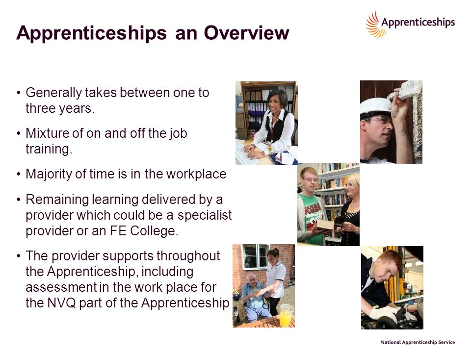 Apprenticeships an Overview