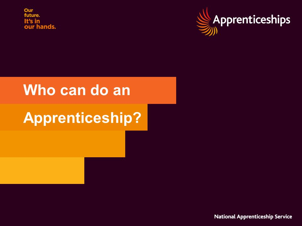 Who can do an Apprenticeship
