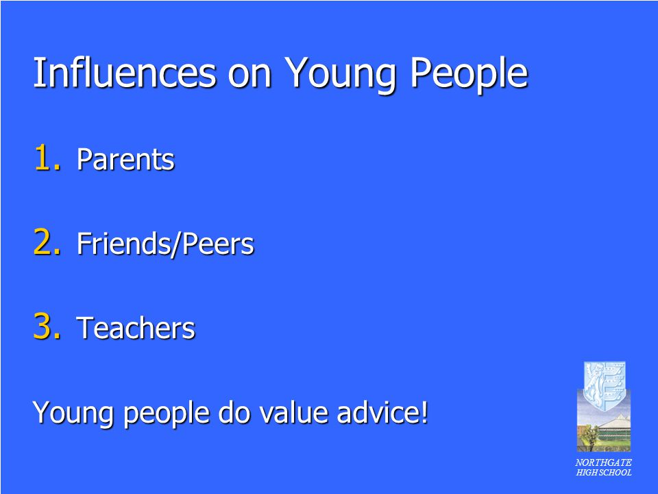 Influences on Young People